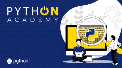 PythON: Academy okładka